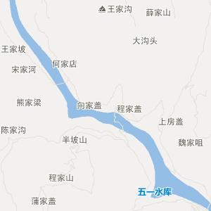 四川省交通地图 广元市交通地图 剑阁县交通地图 木马镇交通地图  ue
