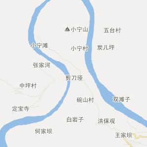 大南峪乡及陕西省略阳县