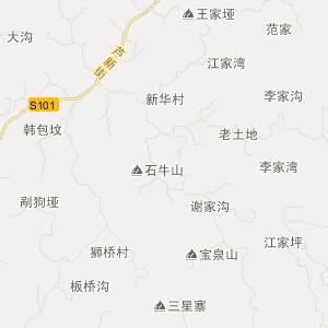 三台县富顺镇交通地图图片