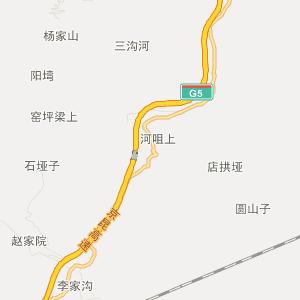 陕西旅游地图 汉中旅游地图