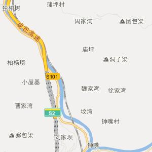 衡东县-石滩乡交通地图