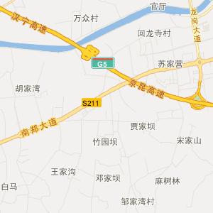汉中南郑旅游地图_中国电子地图网