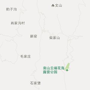 礼县行政区划地图