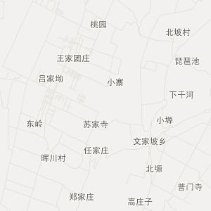 千阳南寨交通地图_中国电子地图网