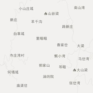 镇原三岔旅游地图_中国电子地图网