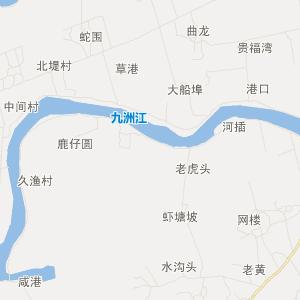 廉江市营仔镇在线交通地图实用