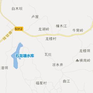 广西交通地图 钦州交通地图
