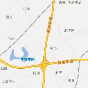 广西交通地图 南宁交通地图