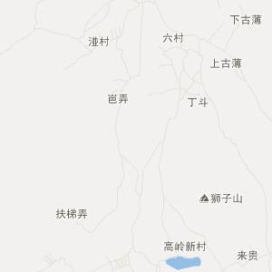 广西交通地图 来宾交通地图