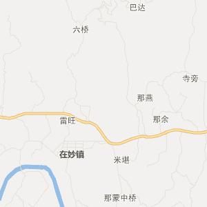 广西交通地图 防城港交通地图