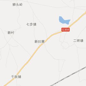广西旅游地图 贵港旅游地图