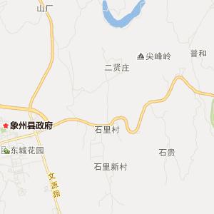 来宾象州旅游地图_象州在线旅游图