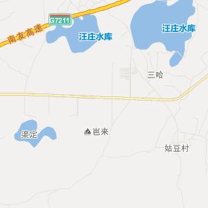 扶绥岜盆交通地图_中国电子地图网图片