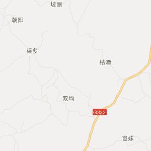广西交通地图 崇左交通地图