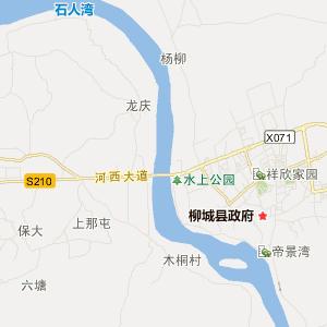 柳州到柳城地图