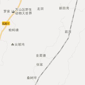 铜仁茶店交通地图_中国电子地图网