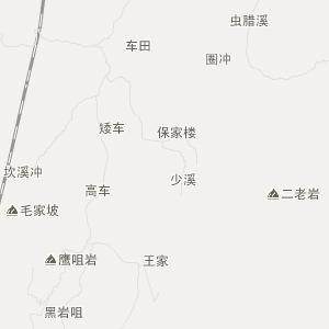 铜仁谢桥交通地图_中国电子地图网
