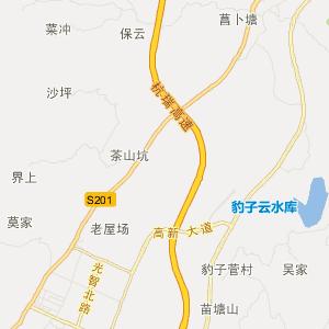 铜仁川硐交通地图_中国电子地图网