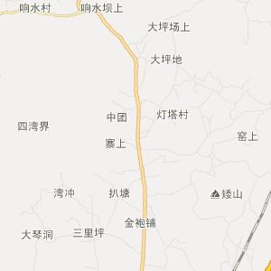 湖南省旅游地图 怀化市旅游地图