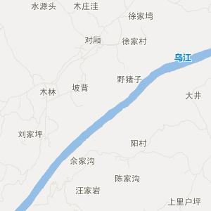 = 沿河甘溪旅游地图 =