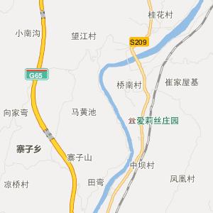 重庆黔江地图全图 重庆黔江行政地图