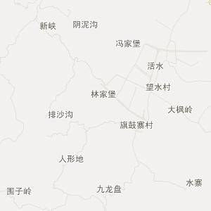 湘西龙山交通地图_中国电子地图网