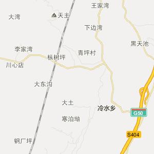 冷水乡地图_南川区冷水乡三维电子地图和邮编