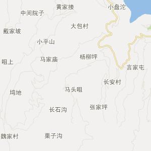宜昌市电网地理接线图