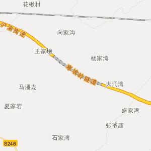湖北省交通地图 恩施州交通地图