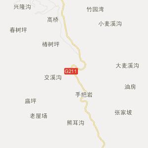 陕西旅游地图 安康旅游地图