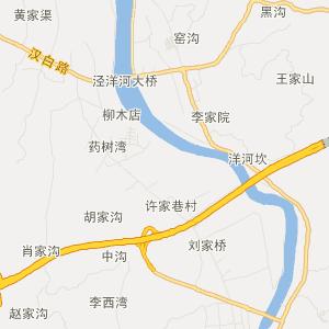 陕西交通地图 汉中交通地图