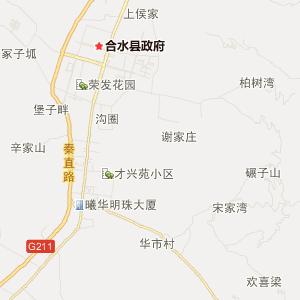 合水西华池旅游地图_中国电子地图网图片