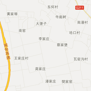 泾阳县蒋路乡旅游地图