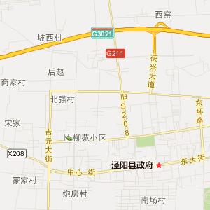 泾阳县城市地图,泾阳县城市电子地图