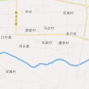 陕西交通地图 咸阳交通地图