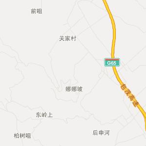 陕西铜川旅游地图_铜川在线旅游图