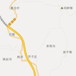 富县北道德旅游地图_中国电子地图网图片