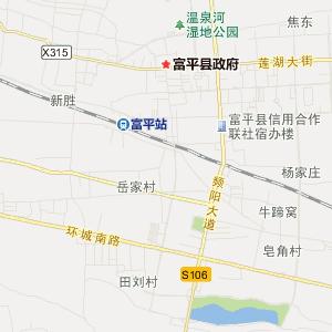 富平窦村旅游地图_中国电子地图网图片