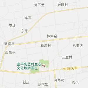 富平王寮旅游地图_中国电子地图网图片