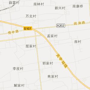 新华路旅游地图