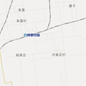 蒲城荆姚交通地图_中国电子地图网