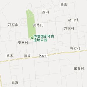 蒲城坡头交通地图_中国电子地图网