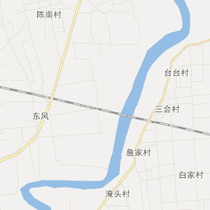陕西省交通地图 渭南市交通地图