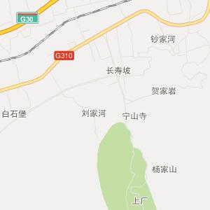 陕西旅游地图 渭南旅游地图