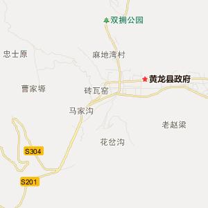 陕西旅游地图 延安旅游地图