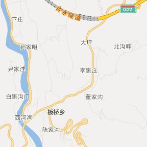 合水板桥旅游地图_中国电子地图网图片