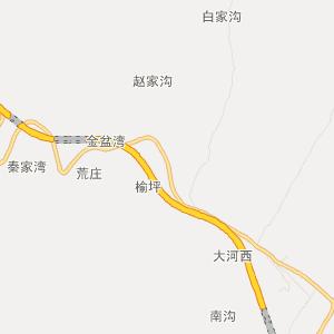 富县张家湾旅游地图_中国电子地图网图片