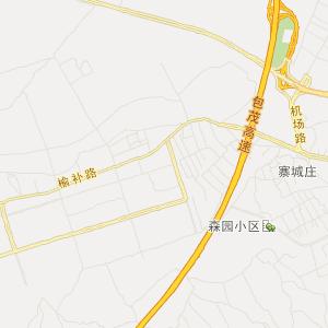 地图名称:陕西榆林市榆阳区地图