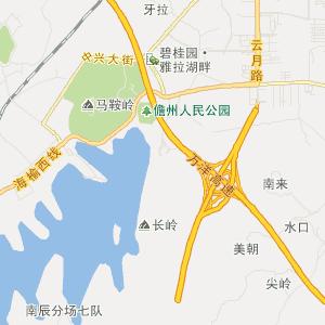 提供海口那大镇地图搜索