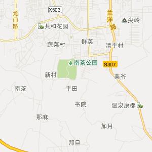 那大镇交通地图